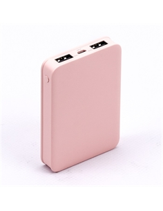 SKU-8194 Power Bank 5K Colore Rosa - 8194 - SKU-8194