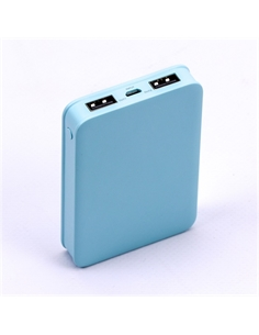 SKU-8195 Power Bank 5K Colore Blu - 8195 - SKU-8195