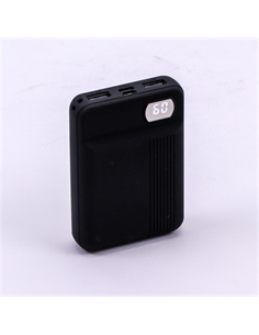 SKU-8850 Power Bank 10K con Display Colore Nero - 8850 - SKU-8850