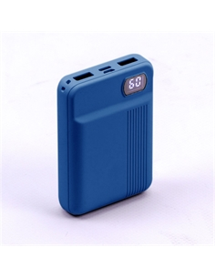 SKU-8853 Power Bank 10K con Display Colore Blu Scuro - 8853 - SKU-8853